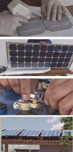 How to build and install solar panels