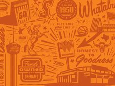 Whataburger mural