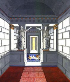 Ancient Origins New evidence has emerged that the massive underground tomb in Amphipolis, Greece, which was hailed last year as the arch. Boutique Hotel Mykonos, Alexander The Great, Macedonia, Greek Islands, Archaeology, Greece, Gallery Wall, Painting, Design