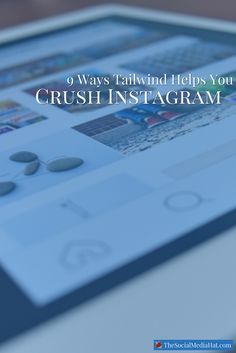 Wondering why your competition is finding success on Instagram, but you aren't? Looking for help? This is the tool to help you. | https://www.thesocialmediahat.com/article/9-ways-tailwind-helps-you-crush-it-instagram via @mikeallton