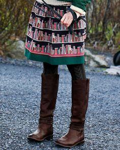 Smocked-Waist-Detail Skirt