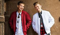 They are really so cute Love Twins, Cool Pictures, Rain Jacket, Windbreaker, Mac, Album, My Love, Celebrities, Boys