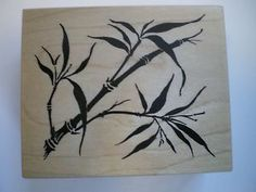 WOODEN RUBBER STAMP PSX F1741 BAMBOO   eBay