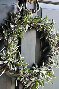 Welcoming Details ~ Sage Wreath