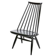 Mademoiselle tuoli, musta