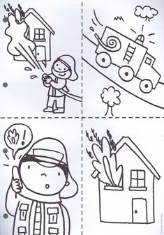 24 Exclusive Image of Community Helpers Coloring Pages Community Helpers Coloring Pages Community Helpers Coloring Pages For Kindergarten Beautiful Pin Community Helpers Worksheets, Community Helpers Preschool, Preschool Worksheets, Tracing Worksheets, Fireman Crafts, Body Preschool, People Who Help Us, Coloring Pages Inspirational, Fire Safety