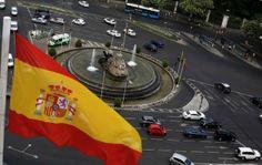 Le produit intérieur brut de l'Espagne a progressé de 0,4% en janvier-mars par rapport au trimestre précédent, sa plus forte croissance depuis six ans. Ce chiffre est conforme aux attentes des économistes et se compare à une croissance de 0,2% au quatrième trimestre. /Photo d'archives/REUTERS/Sergio Perez