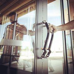 NOMIC ice axe door handles on the new Petzl America Headquarters in Salt Lake City, Utah. Welcome… Photo: Justin Roth