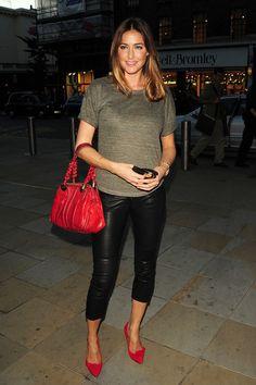 Lisa Snowdon Leather Shoulder Bag