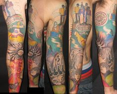 Beatles Sleeve Complete! | Flickr - Photo Sharing!