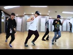 Bangtan dance line practice video~~ j hope, jungkook, and jimin. This is so AMAZING!! they are such great dancers!!!!!!!