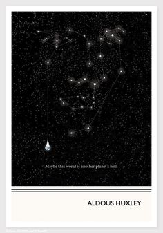 Maybe this world is another planet's hell -   Aldous Huxley Quote Print  I can see that being so very true.
