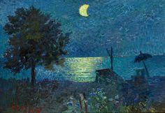 Amare-habeo: David Burliuk (Ukrainian, 1882–1967) - Sea at...