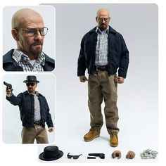 Not Just Toyz - Breaking Bad Heisenberg 1:6 Scale Action Figure, $139.99 (http://www.notjusttoyz.com/breaking-bad-heisenberg-1-6-scale-action-figure/)