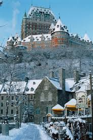 Quebec - Hotel Frontenac I was hella upset when I left NY to spend Easter here and IT WAS SNOWING!  But it was soooo Beautiful! I felt like a Queen in a castle. #LexaLovesIt, #Quebec