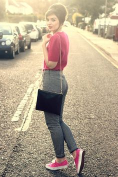 Pink Sixties Inspired Outfit by What Olivia Did, via Flickr