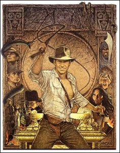 Richard Amsel for Raiders of the Lost Ark