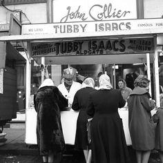 Tubby Isaacs jellied eels. London