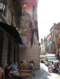 Victor Sackville. Street Art. Bruselas