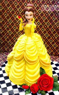 The Beauty Belle Disney Princess Cake - Cake by MLADMAN