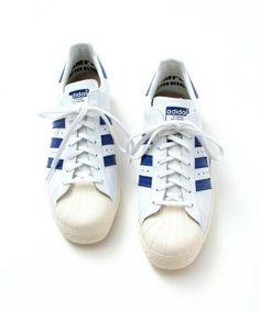 BEAUTY × ADIDAS ORIGINALS SS 80S NAVY #sneaker