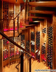 Traditional Wine Cellar Design...DO NOT let me in here! I could get into soooooo much trouble :p