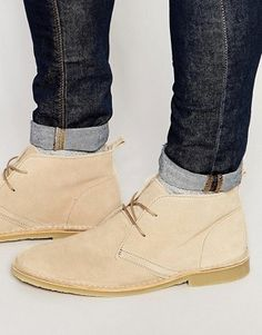 Men's Desert boots | Desert boots, Chukka boots, Casual boots | ASOS