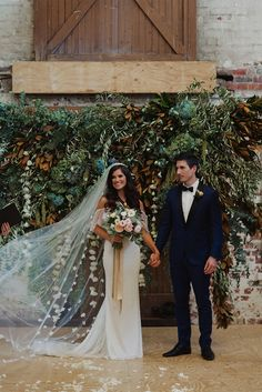 Daniel and Meaghan's dreamy Shakespearean inspired wedding, featuring our unforgettable Lily gown.