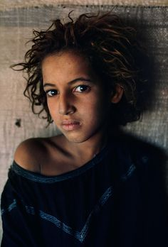Girlf from mali... Photography by Steve McCurry