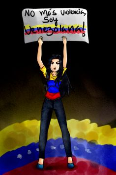 Pray For Venezuela by Koyuuki-Sama.deviantart.com on @deviantART