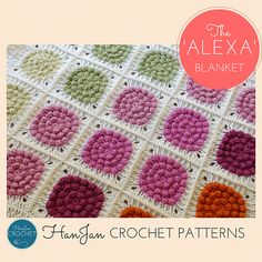 Ravelry: Alexa's Colourful Crochet Baby Blanket pattern by HannahCross
