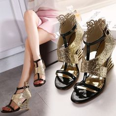 New Design Sexy Twinkle Open Toe Shoes(Size:35-40)_Sandal_WHOLESALE SHOES_Wholesale clothing, Wholesale Clothes Online From China