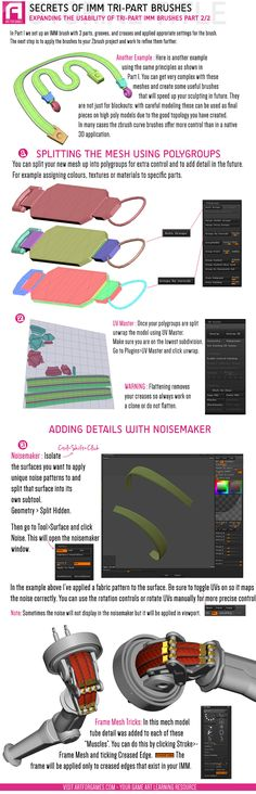How to create tripart IMM brush part2  http://artforgames.com/infotuts/imm-tri-part-trickery-2/