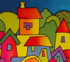 x 55 cms. Bohemian Art, Easy Watercolor, Felt Art, Illustrations And Posters, Whimsical Art, Art Plastique, Stone Art, Easy Drawings, Diy Art