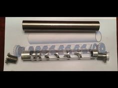 Making a Home Made Silencer Part 5: Engraving and Milling the Baffles - YouTube
