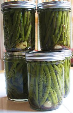 Proverbs 31 Woman: Canning Pickled Green Beans (Dilly Beans)