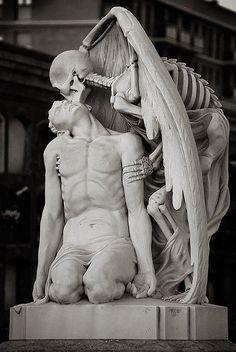 statut la mort et le jeune homme