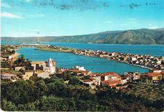 MESSINA - Il lago di Ganzirri e lo Stretto - 1958