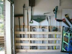Basement Organization Ideas   12 Clever Garage Storage Ideas From Highly  Organized People, Garages, Organizing, Storage Ideas, Make A Tool Holder  From ...