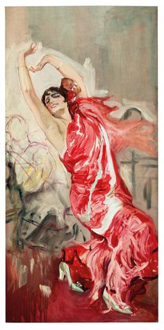 Flamenco Dancer, Joaquin Sorolla, Sorolla Museum in Madrid, Spain ~love Spanish Painters, Spanish Art, Art Painting, Spanish Artists, Dance Art, Artist, Painting, Flamenco, Art And Architecture