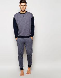 ASOS Loungewear Set In Nepp Fabric