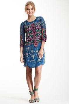 Evelyn Tapestry Embroidered Dress by Creme Fraiche on @HauteLook
