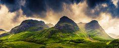 Three Sisters, Glencoe, Scotland by Philip Gunkel
