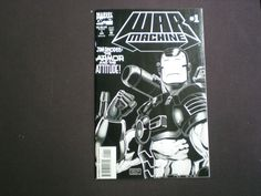 War Machine 1, (1994) Newsstand Edition, Iron Man, Marvel WX by HeroesRealm on Etsy