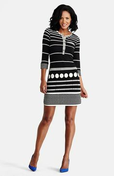 Donna Morgan Print Jersey Shift Dress (Regular & Petite) available at #Nordstrom
