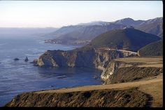 big sur, ca - it's so beautiful but the drive is so scary!