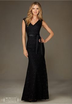 Bridesmaids Dresses Beaded Lace Available in all Mori Lee Solid Lace Bridesmaids colors.