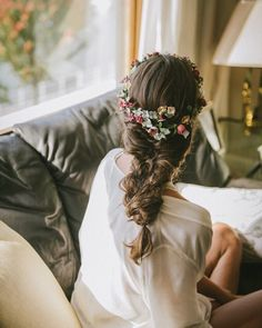 wedding hairstyles trendy hairstyles and colors wedding hairstyles half up half down; wedding hairstyles for long hair; nagels bruiloft 26 Attractive Wedding Hairstyles Half Up Half Down Design Romantic Hairstyles, Loose Hairstyles, Bride Hairstyles, Trendy Hairstyles, Bridal Beauty, Wedding Beauty, Bridal Hair, Wedding Hairstyles Half Up Half Down, Wedding Hairstyles For Long Hair