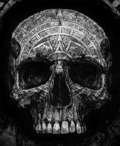 Aztec skull                                                                                                                                                                                 More