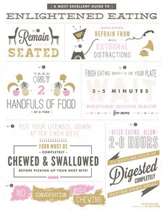 Being mindful of your meals - from the gorgeous Christie at Simply Rooted